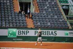 Rafael Nadal's first practice at Roland Garros 2014 (6)