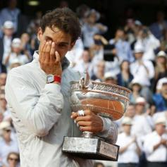 Nadal wins 9th French Open title (1)