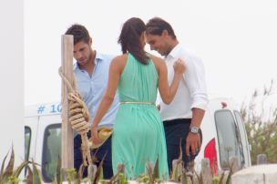 Rafael Nadal and his girlfriend Maria Francisca Perello at Friends' Wedding (4)