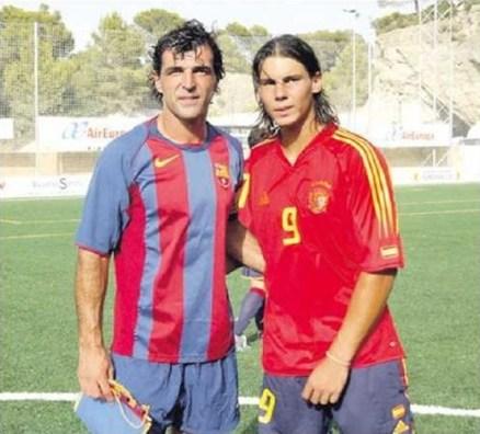 Rafael Nadal and Miguel Angel Nadal