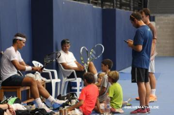 Rafael Nadal practices in Mallorca 2014 (1)
