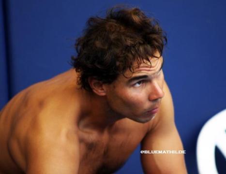 Rafael Nadal practices in Mallorca (3)