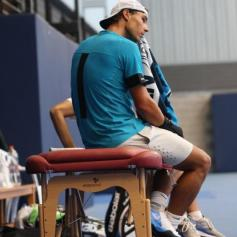 Rafael Nadal hits practice courts in Manacor (4)