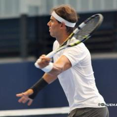 Rafael Nadal practicing in Manacor with wrist injury 18