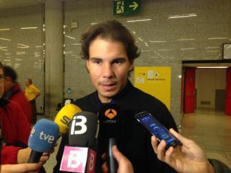 Rafael Nadal flies to Abu Dhabi (Photo: A. M. Cañellas)