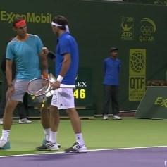 Nadal Monaco Doha Doubles Final