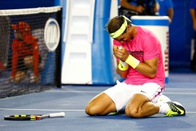 Rafael Nadal at Australian Open 2015