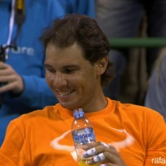 Rafael Nadal Doha Doubles Final