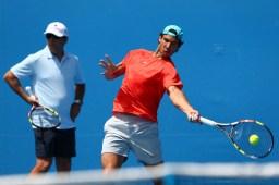 Rafael Nadal practice Australia 2015 (7)