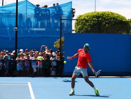 Rafael Nadal practice Australia 2015 (8)
