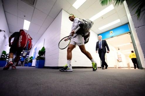 Rafael Nadal v Dudi Sela Round 3 Australian Open