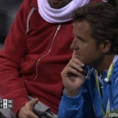Rafael Nadal's coach Francisco Roig