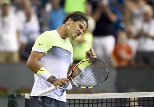 Rafael Nadal beat Igor Sijsling 64 62 in Indian Wells 2015