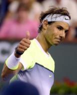 Rafael Nadal beat Igor Sijsling 64 62 in Indian Wells