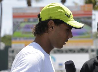 Rafael Nadal interview Miami Open 2015