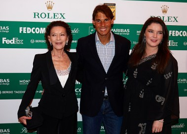Celebrities At ATP Masters Series: Monte Carlo Rolex Masters