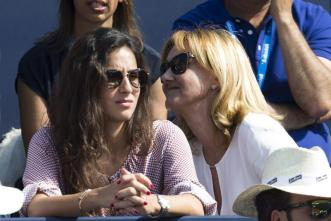 Rafael Nadal girlfriend Maria Francisca Perrello and his mother at Barcelona Open