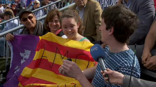 Rafael Nadal Match In Barcelona Interrupted By Marriage Proposal Rafael Nadal Fans