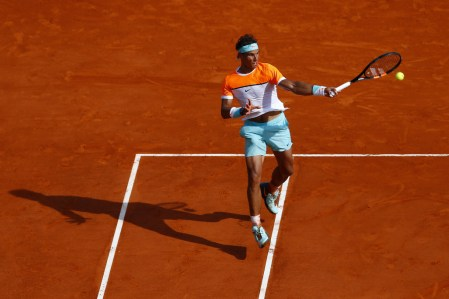 Rafael Nadal plays against David Ferrer in Monte Carlo QFs 2015 (3)