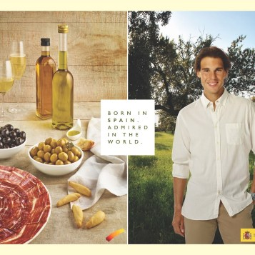 Rafael Nadal promotes Spanish food to international markets (2)