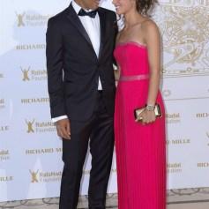 Rafael Nadal girlfriend Maria Xisca Perello at Rafa Nadal Foundation Gala in Paris