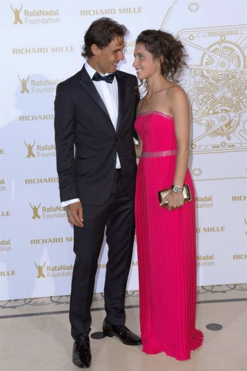 Rafael Nadal girlfriend Maria Xisca Perello at Rafa Nadal Foundation Gala in Paris