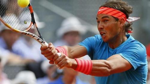 Rafael Nadal plays against Steve Johnson at Madrid Open 2015 (5)