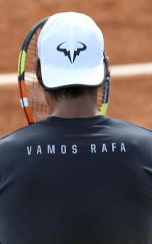 Rafael Nadal practices at Madrid Open (5)