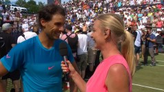 Post match interview with Rafael Nadal Stuttgart final