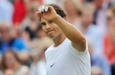 Tennis - Boodles Tennis Challenge - Stoke Park, Buckinghamshire - 26/6/15 Spain's Rafael Nadal Action Images via Reuters / Adam Holt Livepic