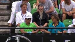 Rafael Nadal coaches Uncle Toni and Roig