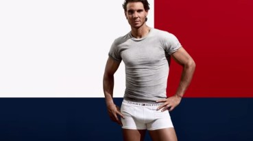 Rafa Nadal Strips Down to His Underwear in New 'Tommy Hilfiger' Ads 2015