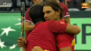 Nadal, Verdasco Seal Spain's Win Over Denmark in Davis Cup