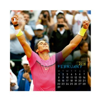 Rafael Nadal Calendar 2016 (2)