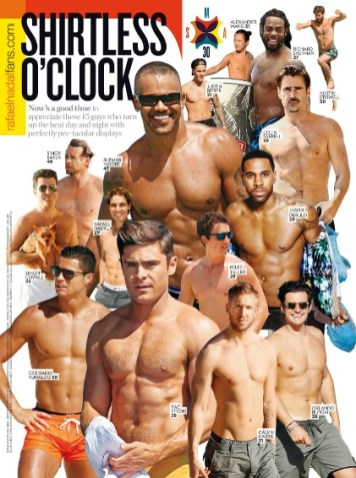 Rafael Nadal Named One of 2015's Sexiest Men Alive By 'People'