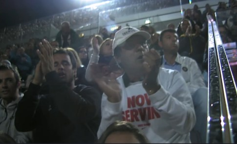 Uncle Toni watches Rafael Nadal's R2 match vs Kohlschreiber in Rome