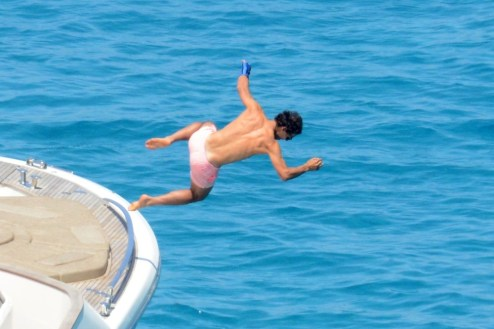 Rafael Nadal on holiday in Spain (3)
