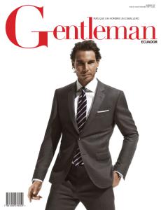 Rafael Nadal covers the latest issue of Gentleman Ecuador