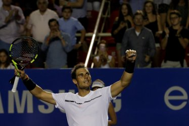 Tennis - Mexican Open - Men's Singles - Semi-Final - Acapulco, Mexico- 03/03/17. Spain's Rafael Nadal celebrates his victory against Croatia's Marin Cilic. REUTERS/Henry Romero