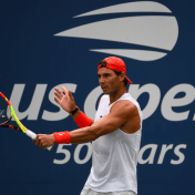 Rafael Nadal practices in New York City 2018 US Open photo (14)