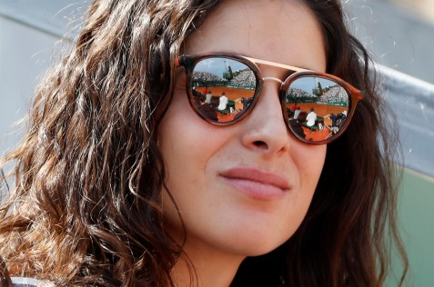 Tennis - ATP 1000 - Monte Carlo Masters - Monte-Carlo Country Club, Roquebrune-Cap-Martin, France - April 18, 2019 Xisca Perello, fiance of Spain's Rafael Nadal REUTERS/Eric Gaillard