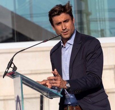 Spanish tennis former player David Ferrer delivers a speech during the graduation ceremony of Rafa Nadal Academy, students of American International School of Mallorca, in Manacor, Balearic Islands, Spain, 11 June 2019. EPA-EFE/, Image: 446213346, License: Rights-managed, Restrictions: , Model Release: no, Credit line: Profimedia, TEMP EPA