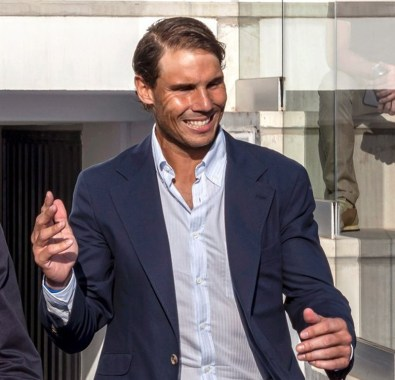 epa07641662 Spanish tennis player Rafa Nadal attends the graduation ceremony of Rafa Nadal Academy, students of American International School of Mallorca, in Manacor, Balearic Islands, Spain, 11 June 2019. EPA-EFE/CATI CLADERA
