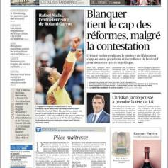 Rafael Nadal's Roland Garros Victory On Newspaper Front Pages (2)