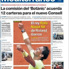 Rafael Nadal's Roland Garros Victory On Newspaper Front Pages (26)