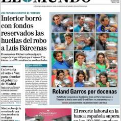 Rafael Nadal's Roland Garros Victory On Newspaper Front Pages (8)