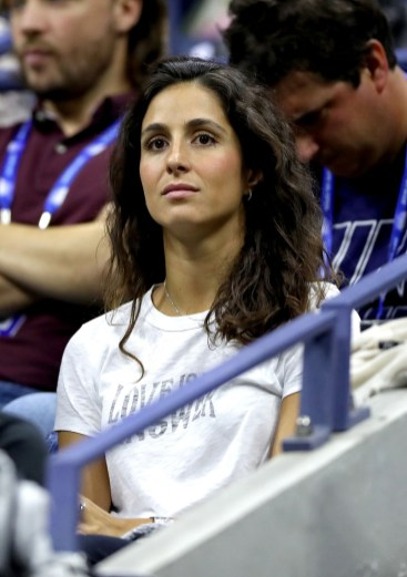 NEW YORK, NEW YORK - SEPTEMBER 06: Xisca Perello attends the Men's Singles semi-final match between Rafael Nadal of Spain and Matteo Berrettini of Italy on day twelve of the 2019 US Open at the USTA Billie Jean King National Tennis Center on September 06, 2019 in the Queens borough of New York City. (Photo by Matthew Stockman/Getty Images)