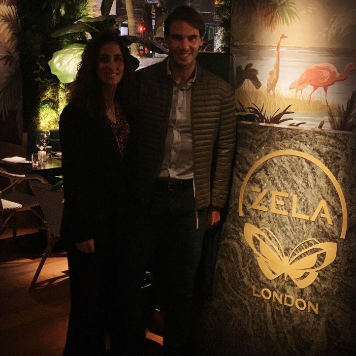 Rafael Nadal and wife Maria Francisco Perello enjoy ...