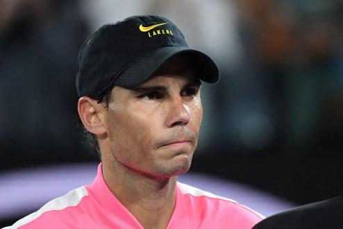 Rafael Nadal TENNIS : Australian Open 2020 - 27/01/2020 AntoineCouvercelle/Panoramic PUBLICATIONxNOTxINxFRAxITAxBEL