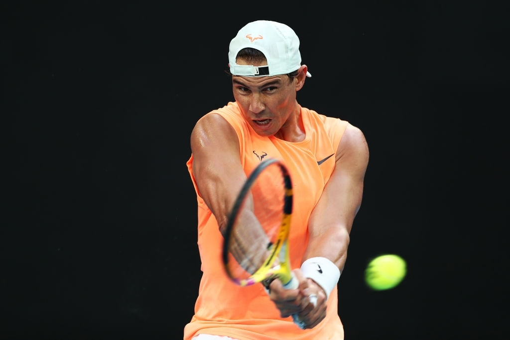 Australian Open 2021: Saturday practice photos - Rafael ...